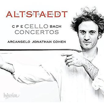 Bach, C.P.E. / Altstaedt - Cello Concertos [CD] USA import