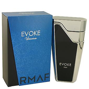 Armaf Evoke Blue by Armaf Eau De Parfum Spray 2.7 oz / 80 ml (Men)