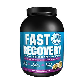 Fast Recovery (Passion Fruit Flavor / Passion Fruit) 1 kg of powder (Passion Fruit)