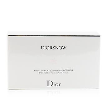 Diorsnow brightening collection: milk serum 30ml+ micro infused lotion 50ml+ uv protection fluid spf50 30ml+ pouch 247083 3pcs+1pouch