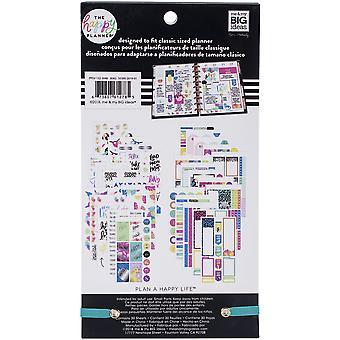 Gelukkig planner sticker Value Pack-pastel tropen, 560/pkg