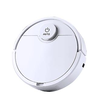Robot Vacuum Cleaner, Touch Switch Rechargeable Cleaning Machine Ideal for Pet Hair, Hard Floor
