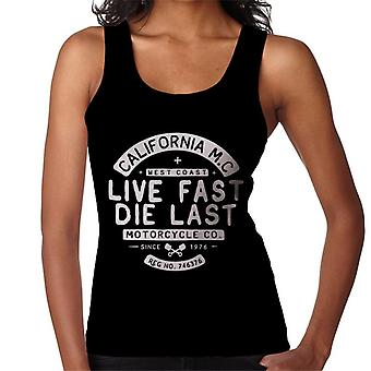 Divide & Conquer Live Fast Die Last Women's Vest