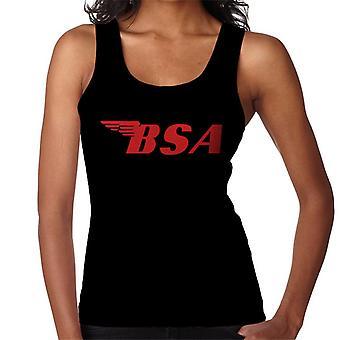 BSA Red Logo Women's Vest