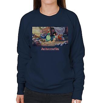 An American Tail Bridget Gives Fievel A Home Women's Sweatshirt