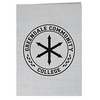 Greendale Community College Logo Greeting Card