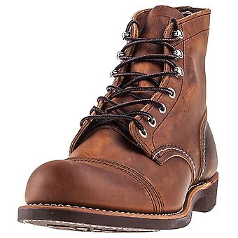 Red Wing Iron Ranger Mens Casual Boots in Koper