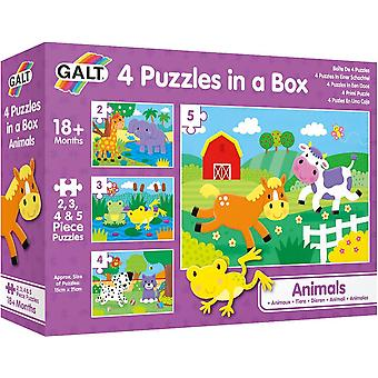Galt 4 Puzzles in a Box