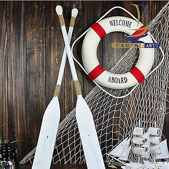 Nautical Life Buoy Crafts Home Decor - Studio Props Wall Hanging Living Room
