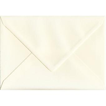 Magnolia Cream Gummed C5/A5 Coloured Cream Envelopes. 110gsm GF Smith Accent Paper. 162mm x 229mm. Banker Style Envelope.