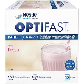 Optifast Strawberry Shake 12 Envelopes x 53 gr