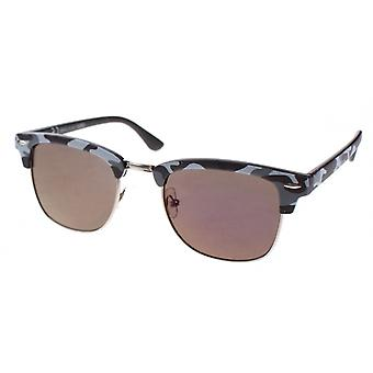 Sunglasses Unisex camouflage grey with mirror lens (AZB-035)