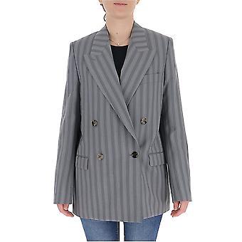 Acne Studios Ah0069lgr Women's Grey Wool Blazer