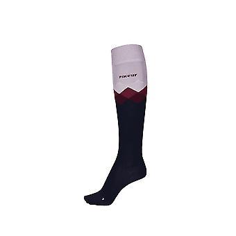 Pikeur Womens Knee Socks - Engelse Rose (38-40)