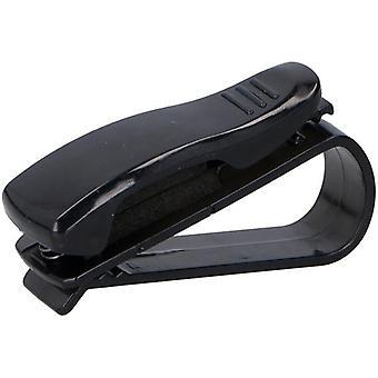 Eyeglass holder Unisex eyewear clip 6.5 cm black