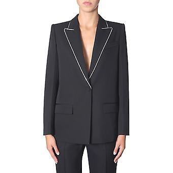 Givenchy Bw309t11bn001 Frauen's Schwarze Wolle Blazer
