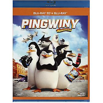 Penguins of Madagascar Blu-ray 3D + Blu-ray