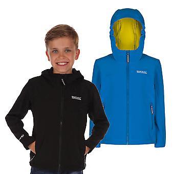 Regatta Boys Tyson Softshell Hooded Jacket