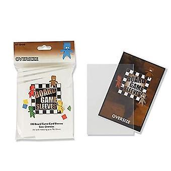 Brettspiel Hüllen Original 100pk Oversize passt Karten von 82x124mm (Packung mit 10)