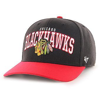 47 Brand Low Profile Cap - McCaw Chicago Blackhawks black