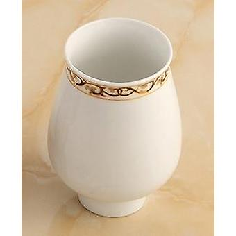 Toothbrush Holder- Ceramic Single Cup Organizer
