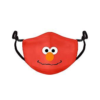 Sesame Street Elmo Adjustable Cloth Face Mask