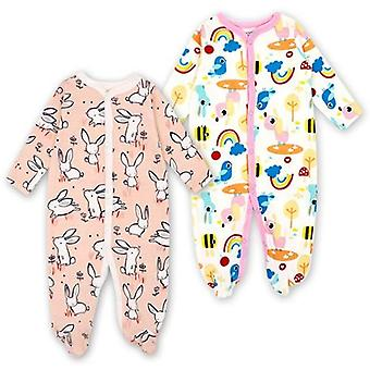 Baby Sleepers Pajamas Newborn Jumpsuits Infant Long Sleeve Clothes