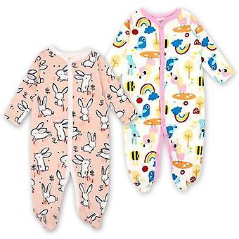 Baby Sleepers Piżama Noworodka Kombinezony Niemowlę Long Sleeve Ubrania