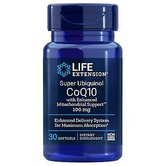 Life Extension Super Ubiquinol CoQ10, 100 mg, 30 Softgels