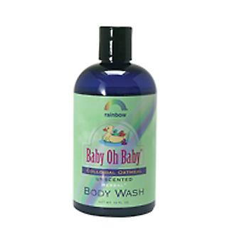 Rainbow Research Baby Colloidal Oatmeal Body Wash, Unscented 12 oz