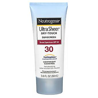 Neutrogena Ultra Sheer Dry-Touch Sunblock Lotion Spf 30, 3 oz