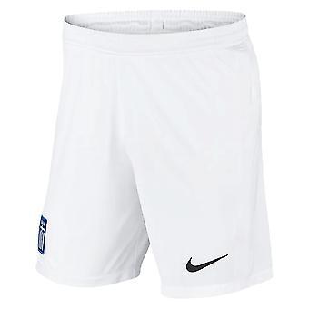 2020-2021 יוון מכנסיים קצרים הביתה (לבן)