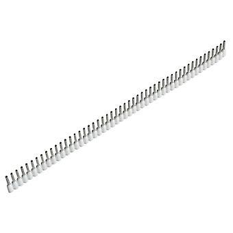 Jokari Wire End Sleeves 0.5 x 8mm White 500 Piece JOK60150