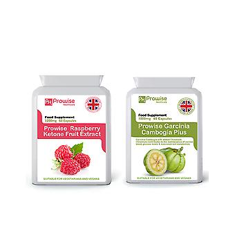 Raspberry Ketones + Garcinia Cambogia | Suitable For Vegetarians & Vegans | Made In UK