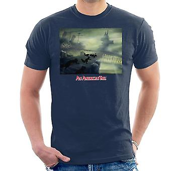 An American Tail Cats Chasing Men's T-Shirt