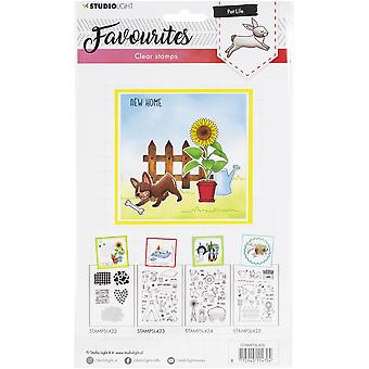 Studio Light Favourites A5 Stamps - Number 425