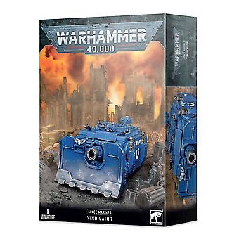 Warhammer 40k - Space Marine Vindicator - samlarfigur