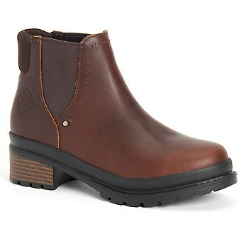 Muck Boots Womens Liberty Chelsea Slip On Leather Boots