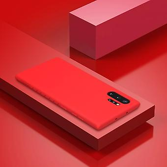 For Galaxy Note 10+ NILLKIN Rubber Wrapped TPU Protective Case(Red)