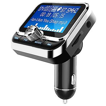Bluetooth FM transmitter and dual USB 2.4V car charger