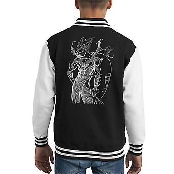 Garou And Saitama One Punch Man Kid's Varsity Jacket