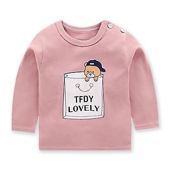 Vêtements pour bébés pour tout-petits flambant neufs, T-shirt, Hauts