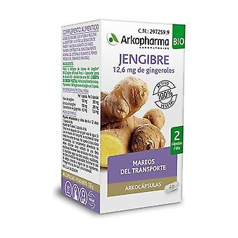 Arkocápsulas Ginger BIO 40 capsules