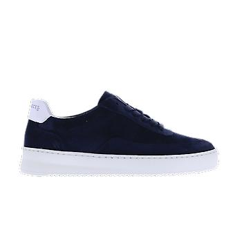 Filling Pieces Mondo Ripple Perforated Blue 24520101658NAVY shoe