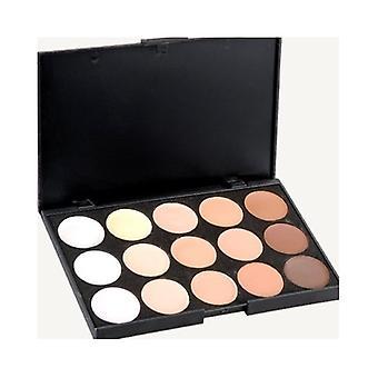15 Colours 3d Radiance Concealer Palette Set