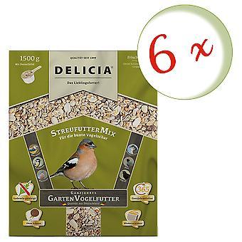 Sparset: 6 x FRUNOL DELICIA® Delicia® rozsiewacz, 1,5 kg