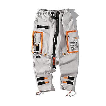 Multi Pockets Cargo Harem Jogger Pants, Pantalons casual pour hommes, Streetwear