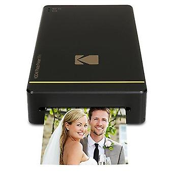 Kodak pm 210 mini sublimation thermique mini imprimante photo mobile mobile portable instantanée - noir