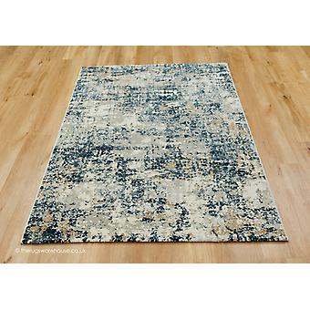 Mojito blauwe mix tapijt