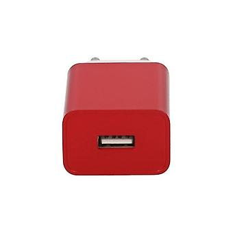 3-pack, Charger Contact USB 5V 2A rood